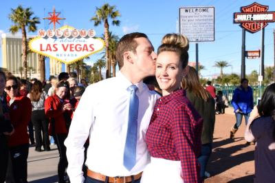Bride & Groom in Las Vegas, USA