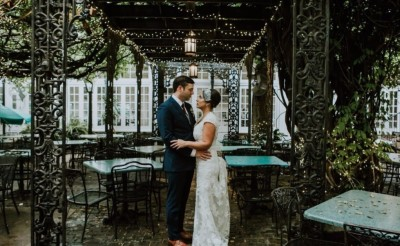 Bride & Groom in New Orleans, Eloping to New Orleans with Simply Eloped